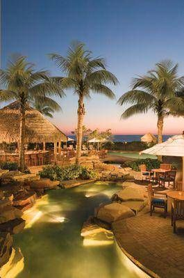 La Playa Resort. Naples, Fl. One of the best places to stay in Naples right on the beach. The beachside dining is incredible!