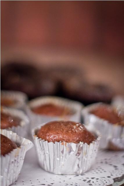 Traditional Malva Pudding cupcakes...