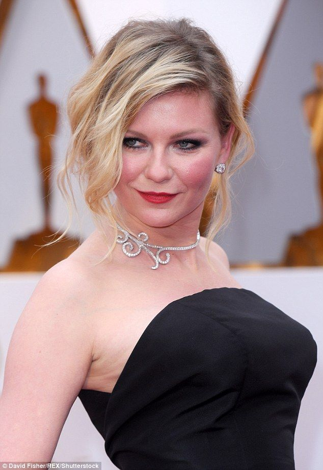 Love is in the air: The 34-year-old, meanwhile, is engaged to Breaking Bad actor Jesse Plemons, who did not appear to join the actress on the red carpet.