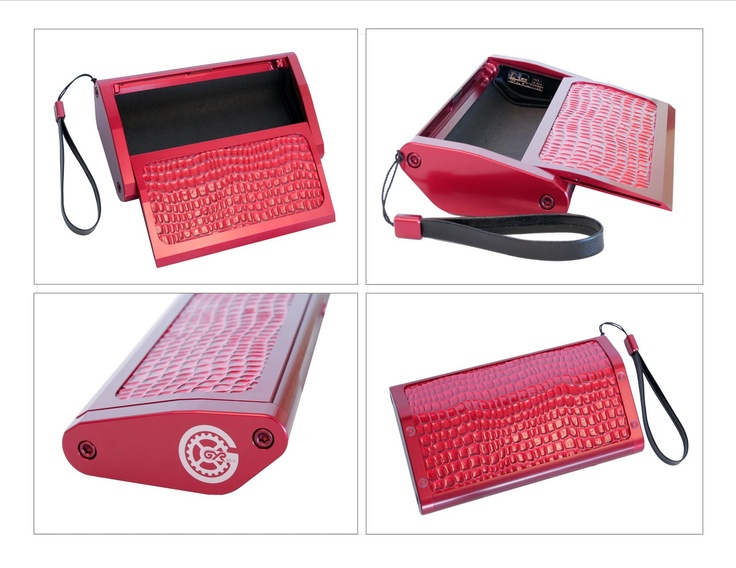 """Win this Ultimate Grand Prize - Our Fabulous 2013 """"Rosette Red"""" Clutch.  Valued @ $995. See our facebook page for details - www.facebook.com/gyrstyle"""