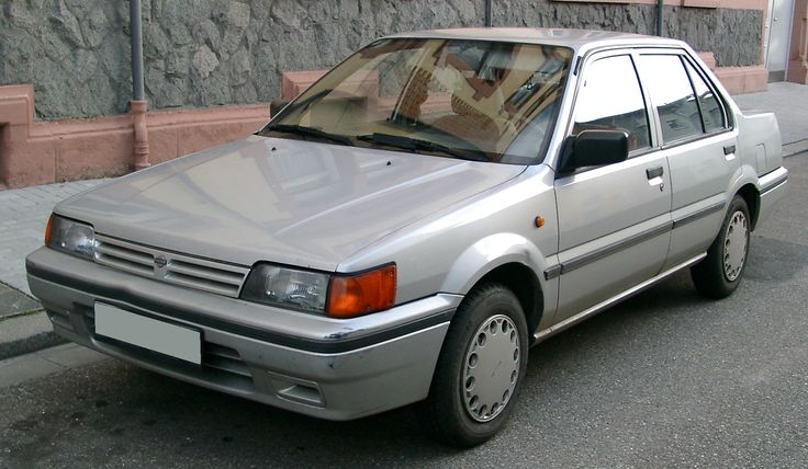 Managed to trade the Escort in for car 20 a Nissan Sunny Diesel 1.7