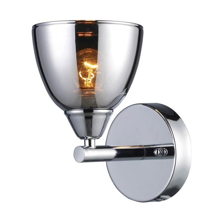 Best Photo Gallery Websites  Chrome Translucent Glass Bath Sconce