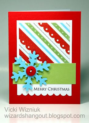 Wizard's Hangout: Believe Christmas Cards Class - Individual Card Pics...