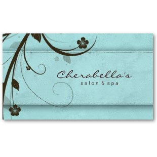 17 best salon ideas images on pinterest at home business ideas shop salon spa watery blue floral elegant business card created by spacards reheart Choice Image