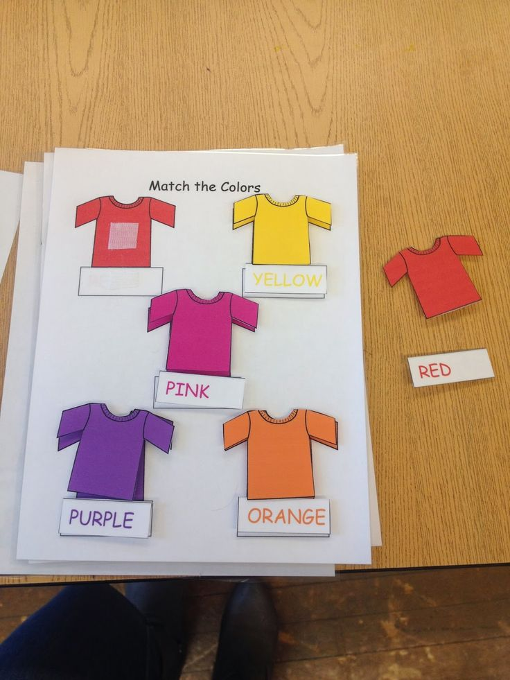 Autism Tank: Matching File Folders