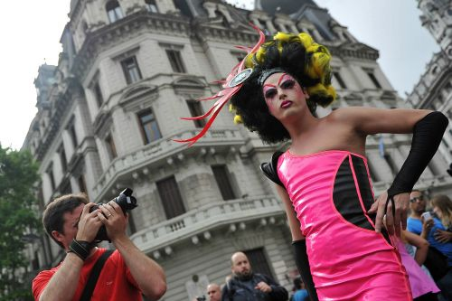 Desfile del orgullo gay en Buenos Aires