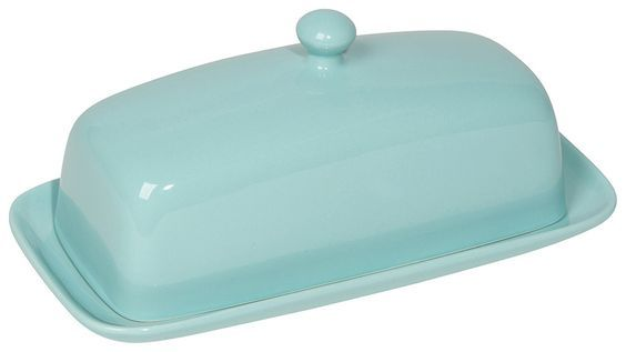 PURCHASED! Turquoise Butter Dish | The Art of Home $14.95 | 1 Requested | 1 Purchased