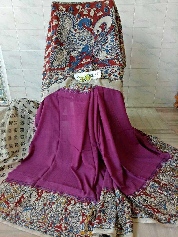 Kalamkari silk cotton sarees 99