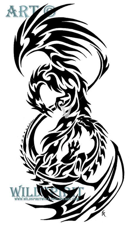 Eventually get a Phoenix tattoo on my ribs.