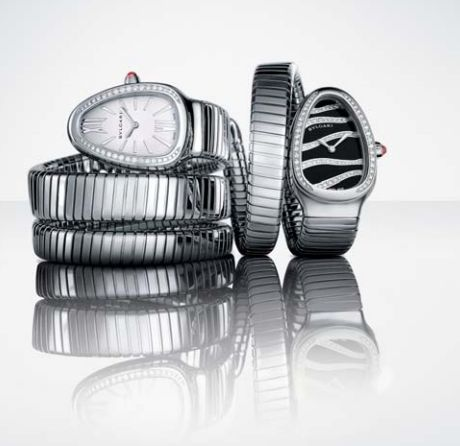 Different orientations of watch. upright and lying down.