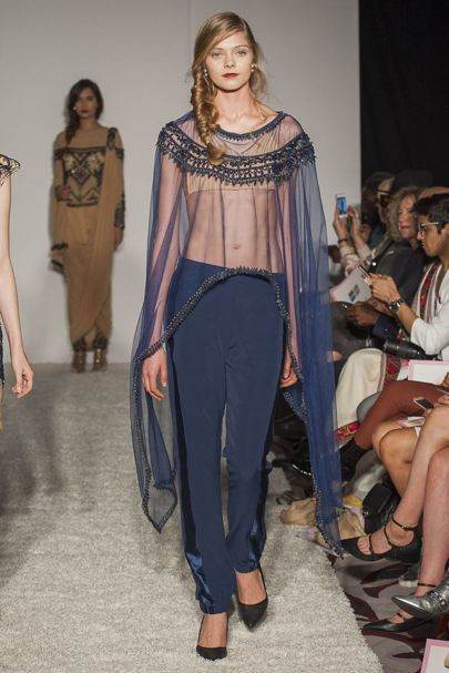 Delna Poonawalla London Spring/Summer 2017 Ready-To-Wear Collection | British…