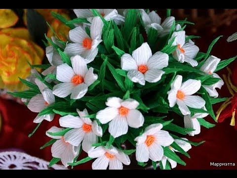 Paper flower craft youtube forteforic paper flower craft youtube mightylinksfo