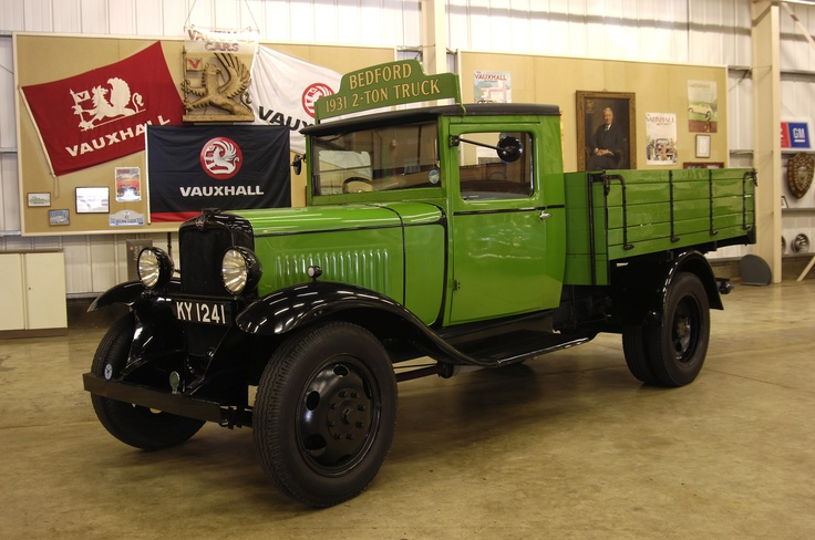 1931: Vauxhall Bedford WHG 2-ton Truck