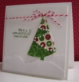 Stamping with Loll: Folded Christmas Tree