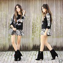 A Blogger Flávia Linden, do blog Fashion Coolture, arrasou em mais uma produção linda produção com nossas gaiter boots!