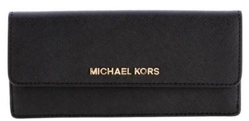 Michael Kors Jet Set Travel Monedero Black monederos Travel Set monedero Michael Kors Jet black Noe.Moda