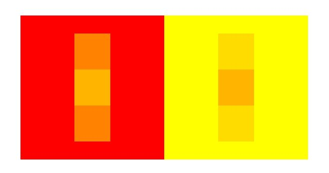 Illusion and color perception