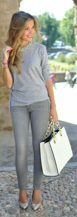 This is just a pretty and simple outfit. I know i'm supposed to accessorize but that is a big purse. I don't like purses. I am a utilitarian. Why would you need to bring so much stuff you'd need that big of a purse?