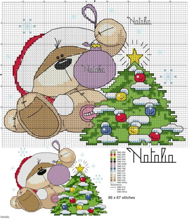 Orsetto natalizio