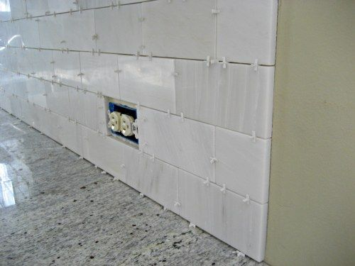 Kitchen Backsplash Outlet 29 best hiding electric outlet - kitchen counter images on