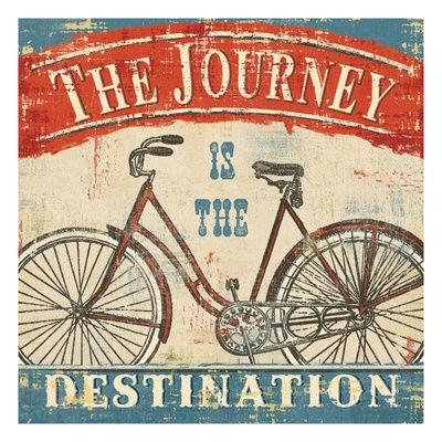 The journey is the destination - vai pra onde?