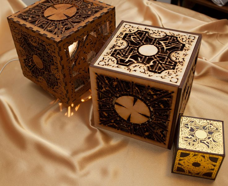 Hellraiser Lament ConfigurationInspired Lamp Clean by skydogs, $125.00