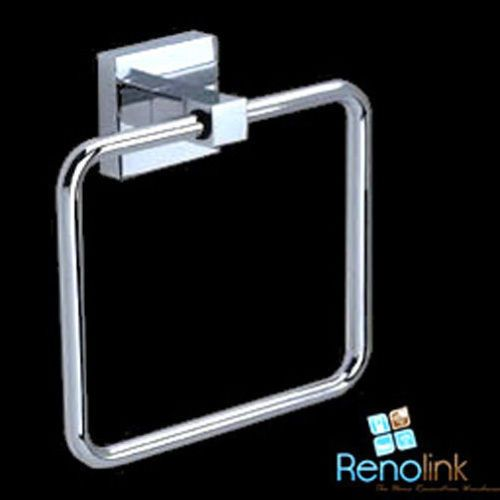 SQUARE TOWEL HOLDER RING RAIL SOLID BRASS BATHROOM ACCESSORY 8913 in Home & Garden, Building Materials & DIY, Plumbing & Fixtures | eBay