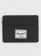 Herschel Black Charlie Card Holder