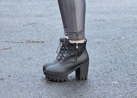 Sammi Jackson - Grey Discopants - Look 2 Wholesale 7 boots