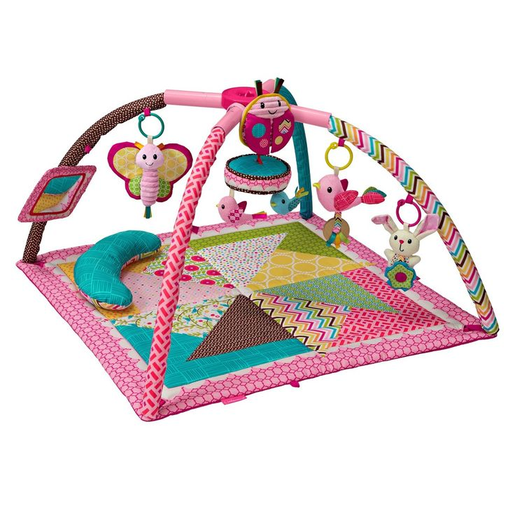 Infantino Go GaGa Deluxe Twist and Fold Gym - Pink   Baby ...