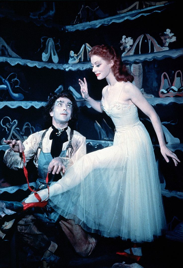 the Red Shoes...probably the most graphic movie ever made