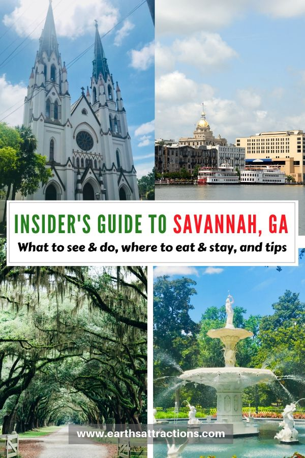 Savannah Visitor S Guide With The Best Things To Do In Savannah Ga Tips Accommodation Restaurants And More Earth S Attractions Travel Guides By Locals Savannah Chat Cool Places To