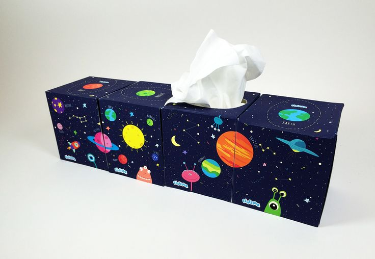 Fluffies Tissues Packaging on Behance