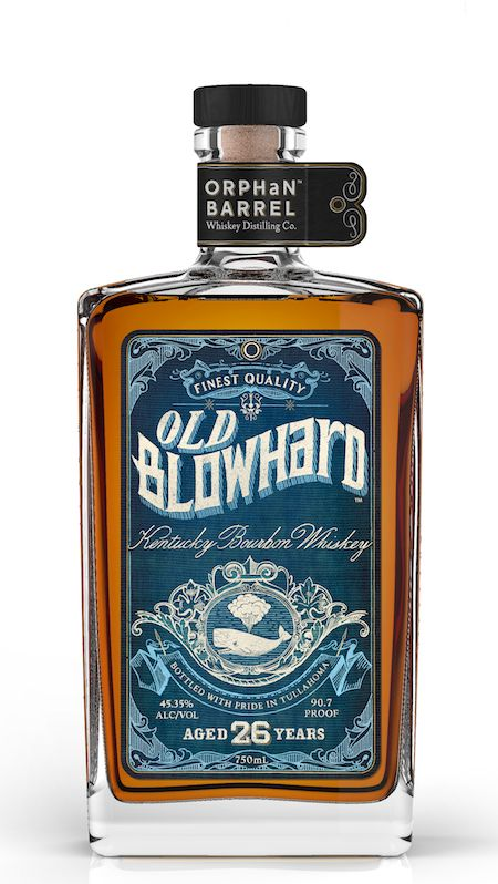 Old Blowhard Bourbon #Labels