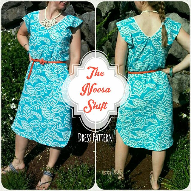 The Noosa Shift Dress Pattern | So Much To Make