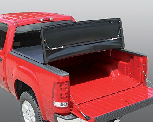 Rugged Liner Fcf6509 Premium Soft Vinyl Tonneau Cover For Ford F150 Pickup 65 Foot Bed Without Util Tonneau Cover Tri Fold Tonneau Cover Folding Tonneau Covers