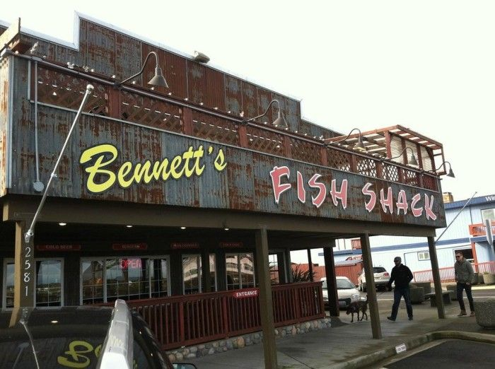 10. The Dungeness Crab & Cheddar Melt Sandwich from Bennett's Fish Shack (Westport, Ocean Shores, Grayland)