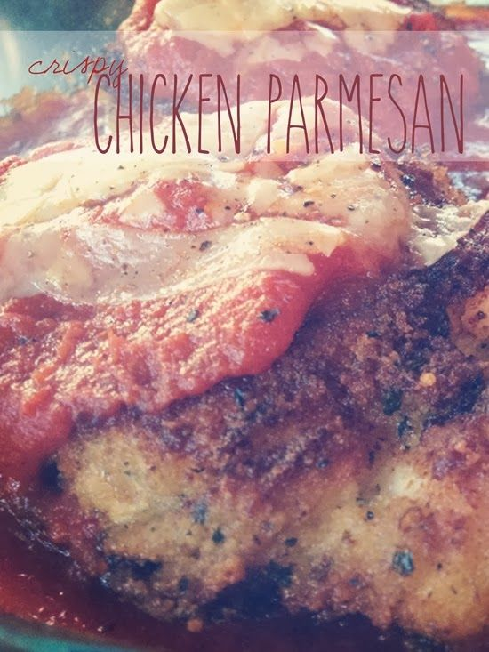 Easy & Crispy Chicken Parmesan | Food and Recipes. | Pinterest