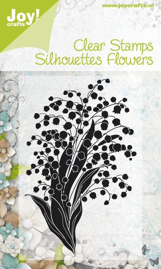 6410/0049 Noor! Design Stempel Flowers  , 1 st.