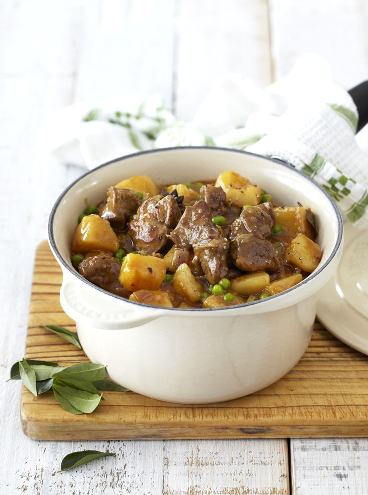 Tasty Mutton, Pea and Potato Curry: like all our #Knorr recipes, SO easy to make.
