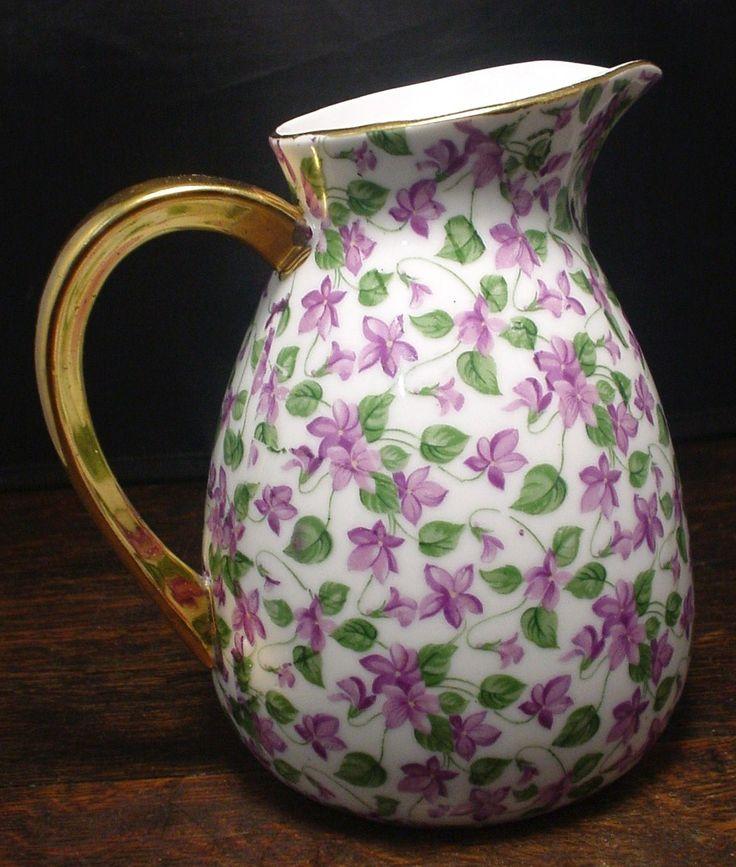 violets pitcher