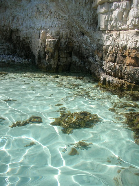 Voutoumi's crystal clear waters, Antipaxoi island, Ionian Sea  by june_godiva, via Flickr