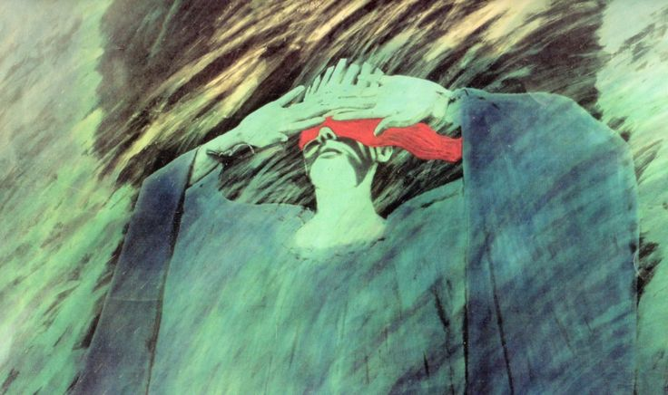 Şahin Kaygun, The Moon Goddess, Ay Tanrıçası, 1985 (Erdinç Bakla archive)
