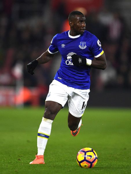 Yannick Bolasie of Everton in action during the Premier League match between Southampton and Everton at St Mary's Stadium on November 27, 2016 in Southampton, England.