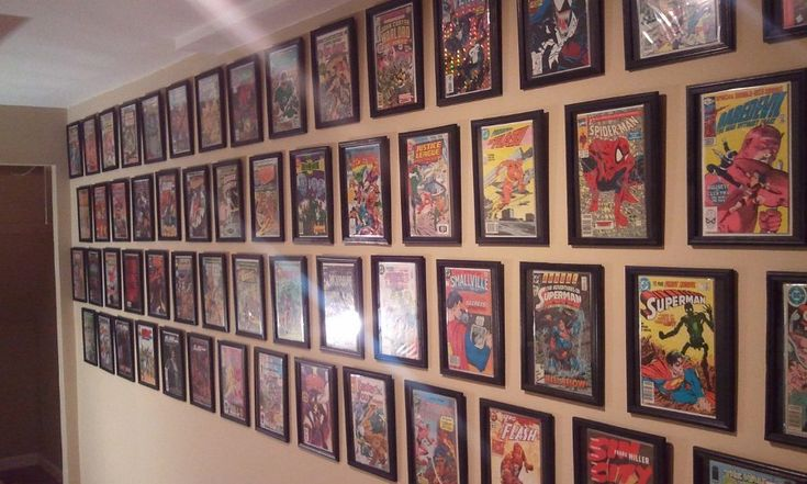 The cheap $1 Dollar Store comic book frame hack