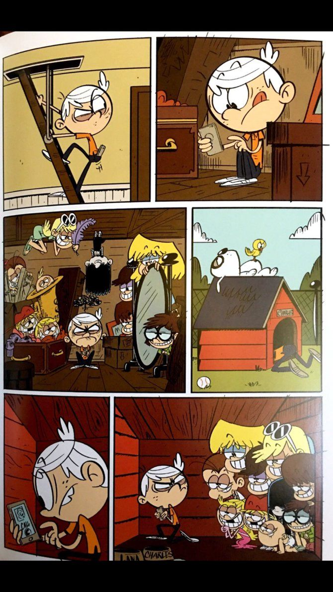 Ronnie Anne on the phone 3 by darrenrosario | The Loud House Ronnie