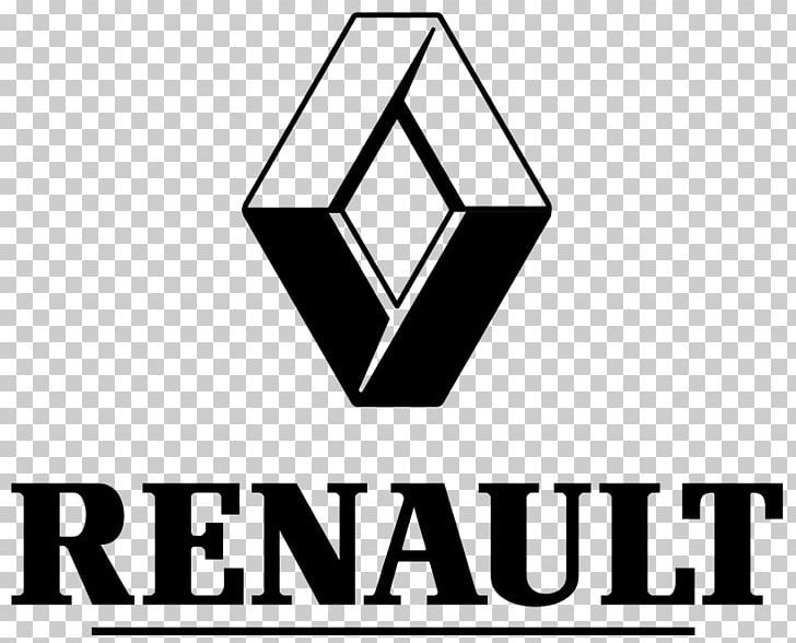 Renault Captur Car Logo Png Angle Area Black Black And White