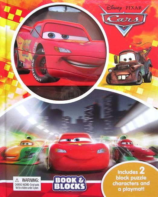 Disney Cars Book & Blocks includes 2 Block Puzzle Characters and a playmat, Di buku ini ada 2 character block puzzle (Lightning McQueen dan Fransesco.......