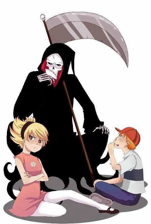 Grim adventures of billy and mandy anime style