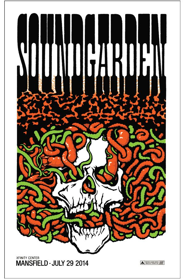 Soundgarden - Ames Bros - 2014 ----